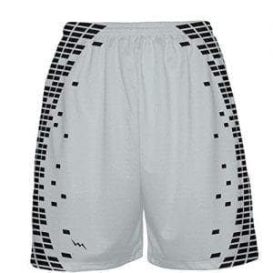 Silver-Basketball-Shorts
