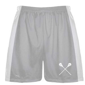 Silver Shorts For Lacrosse