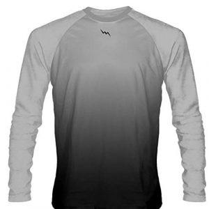 Silver-Long-Sleeve-Lacrosse-Shirts