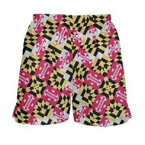 maryland flag lacrosse shorts