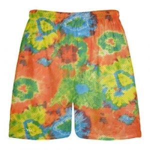 Tie Dye Lacrosse Shorts
