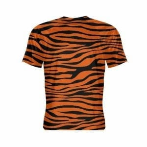 Tiger Print Short Sleeve Shirt