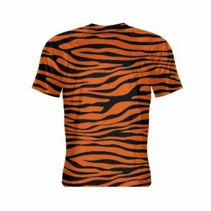 Tiger Print Short Sleeve Shirt