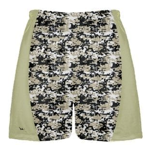 Vegas Gold Digital Camouflage Lacrosse Shorts