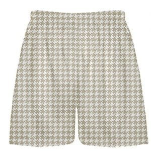 Vegas Gold Houndstooth Shorts