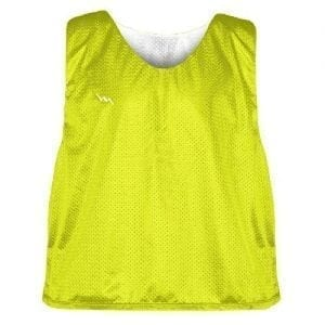 Yellow Soccer Pinnies