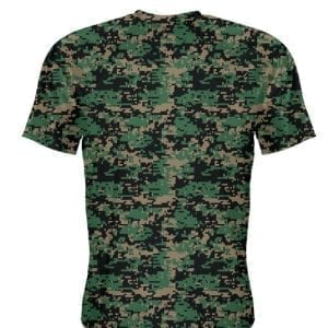 Black LightningWear Youth Marine Corps Shirt Gray Logo Black Marine Shirt Youth