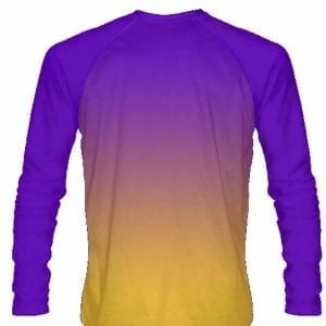 Purple-Gold-Fade-Ombre-Long-Sleeve-Shirts