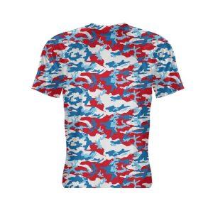 Camouflage-Print-Short-Sleeve-Shirt