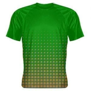 Shooter Shirt Green Orange - Basketball Warm up Shirts