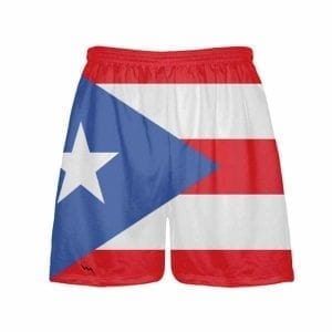 Puerto-Rico-Flag-Shorts