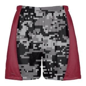 Black-Digital-Camouflage-Lacrosse-Shorts
