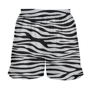 Girls-Zebra-Lacrosse-Shorts