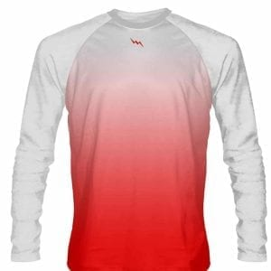 White-Red-Fade-Ombre-Long-Sleeve-Shirts