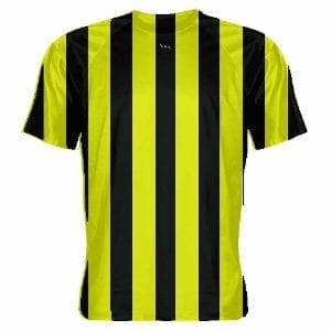 Yellow-Soccer-Jerseys-Striped-Soccer-Shirts