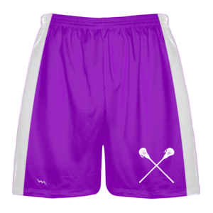 Purple Lacrosse Shorts