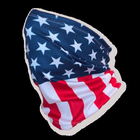 USA flag gaiter