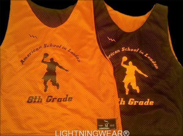 american school in london basketball reversible jerseys