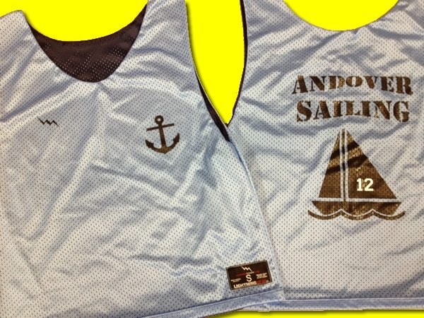 andover sailing pinnies