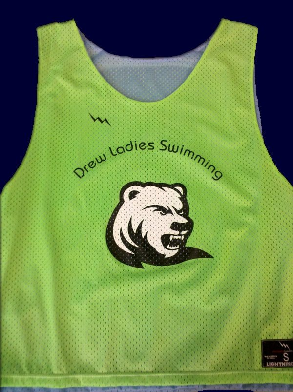 drew ladies swimming pinnies
