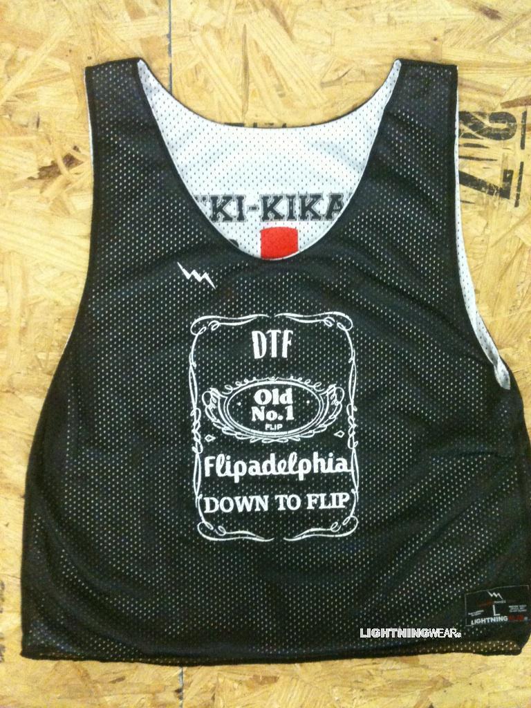 Flip Cup Jerseys & Custom Reversible Flip Cup Pinnies