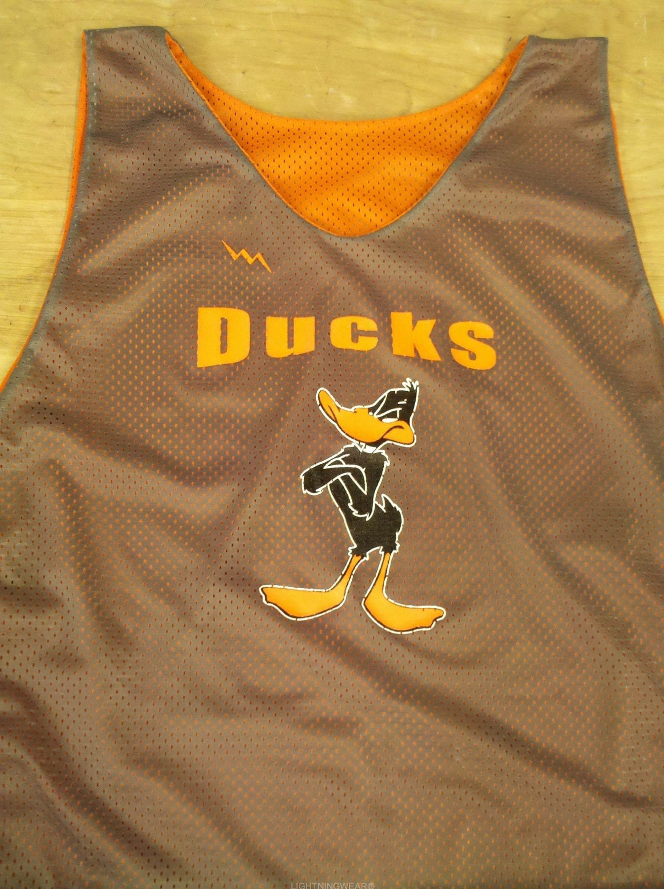 ducks lacrosse pinnies