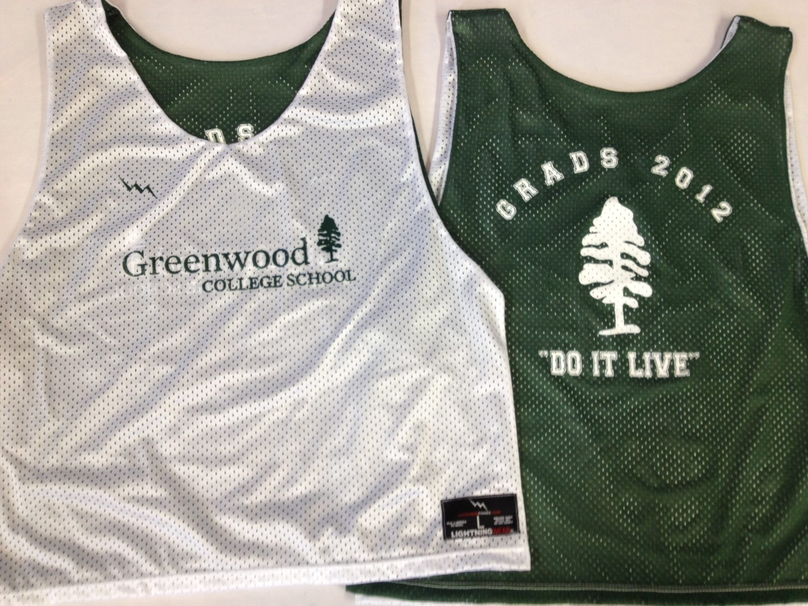 greenwood seniors pinnies
