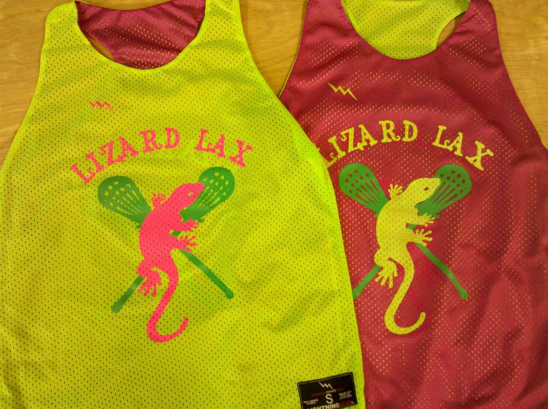lizard lax pinnies