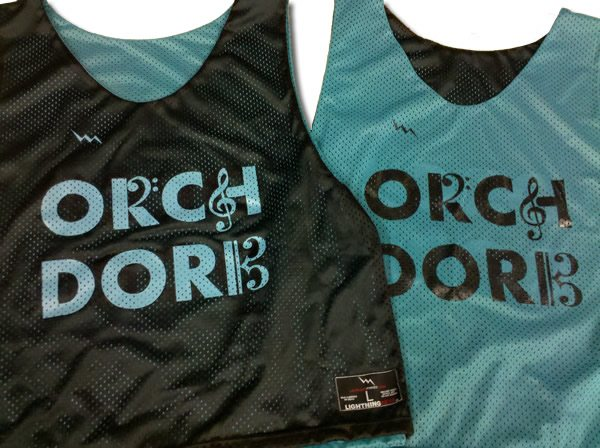 orchestra pinnies
